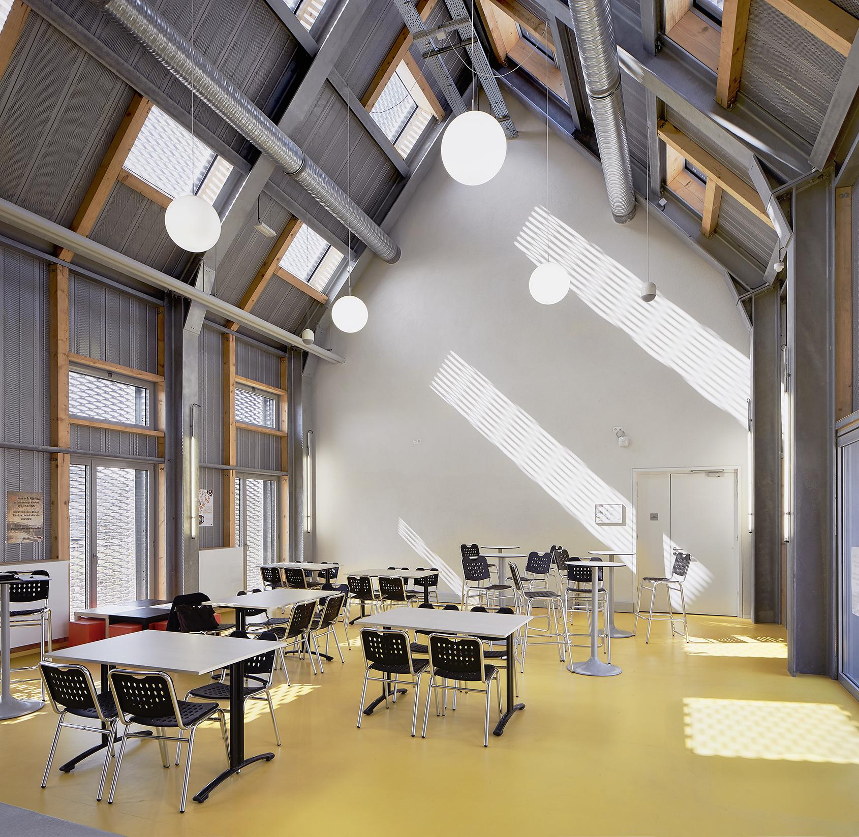 Belus & Hénocq - Maison des étudiants