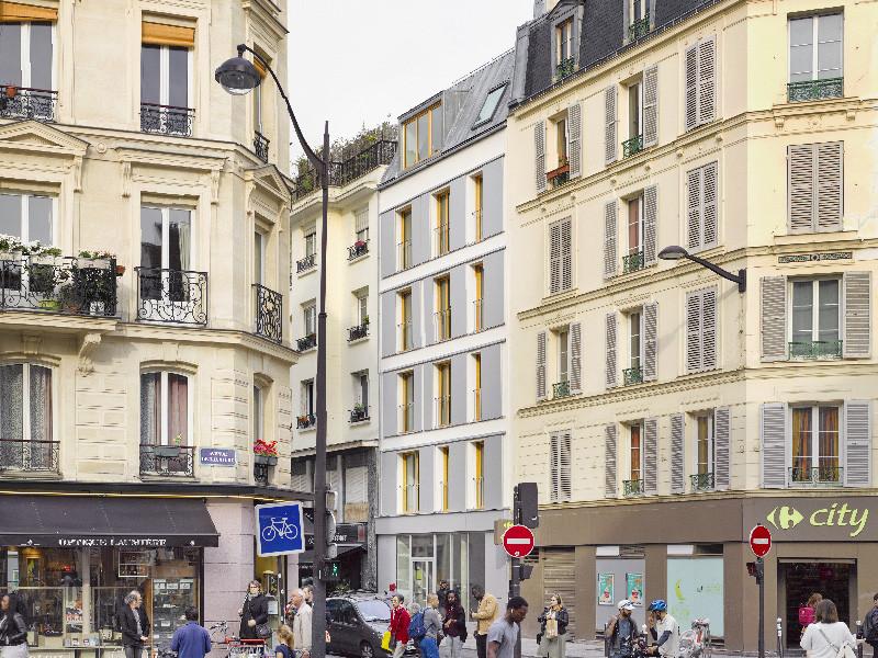 Facade rue de Meaux